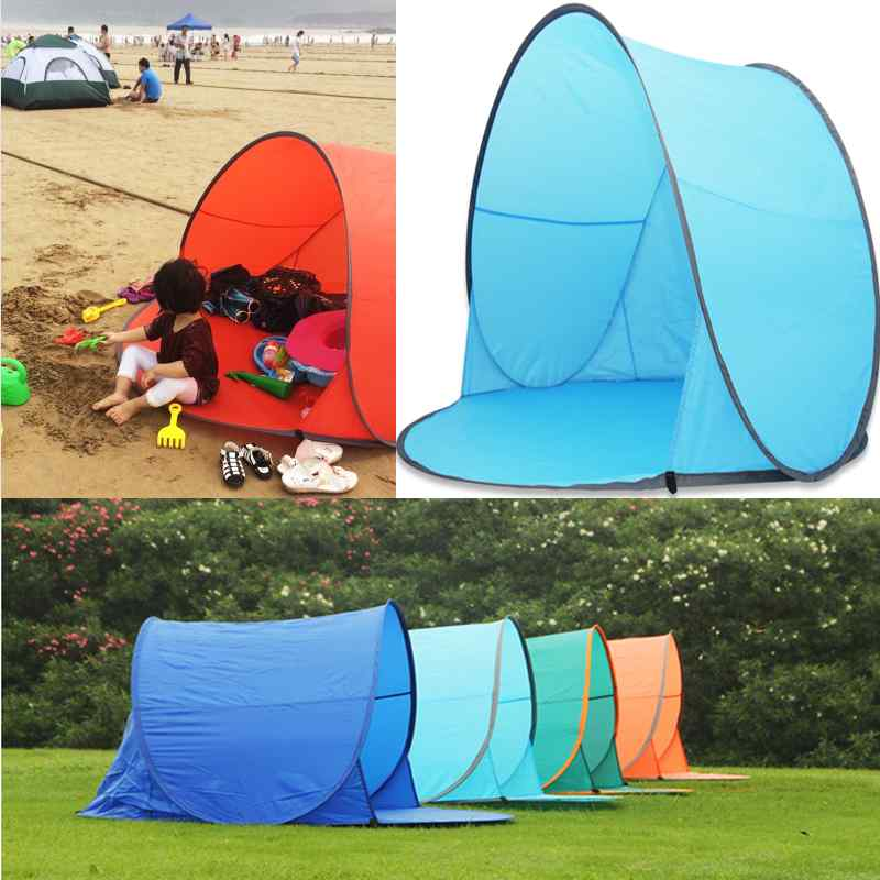 2015 New Hot Sale UV Protection Waterproof Outdoor Camping Hiking Tent Fishing Mobile Tent Four color for You Choice<br><br>Aliexpress