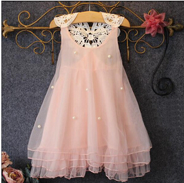 Girl Dress 2-14Y Baby Girl Clothes Summer Lace Flower Tutu Princess Kids Dresses For Girls,vestido infantil,Kid Clothes(China (Mainland))