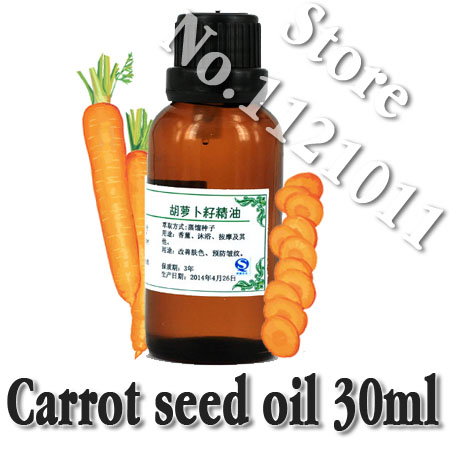 Free shopping100% pure plant essential oils Carrot seed oil Hungary imports Dispels flatulence Promote cell regeneration(China (Mainland))
