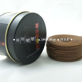 Tibetan incense coils,20 kinds of natural herbal ingredients.5cm 20 pcs 1h.Rich & exotic heady scent.Mini pack,easy to carry.
