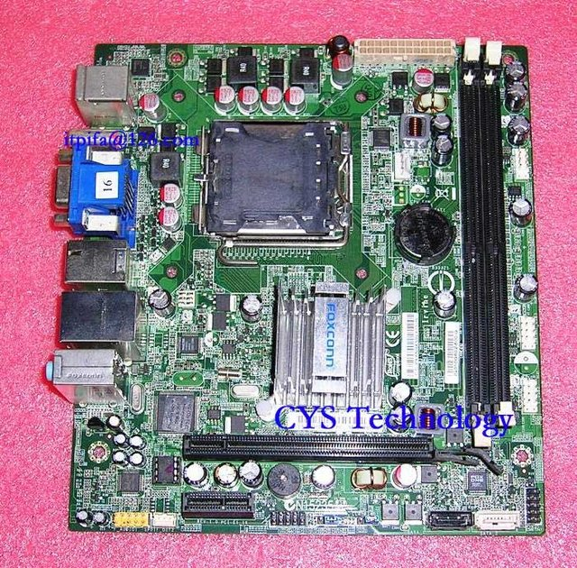 Free shipping for HP Irvine GL6E MCP73S01 Desktop Motherboard mcp73 GF7100 5189-0652 492934-001,Mini-ITX,Socket 775,DDR2