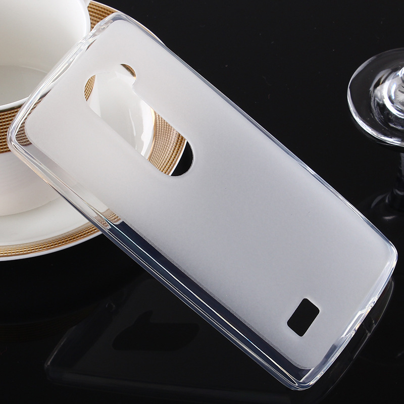 For LG Leon Case Silicone Rubber Gel Clear Pudding Cover TPU Soft Case for LG LEON H340N H320 Protective Phone Case Fundas Coque(China (Mainland))