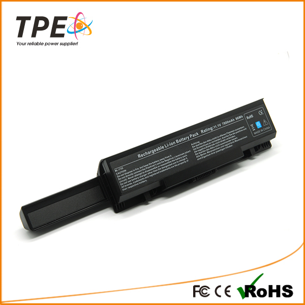 Replacement 7800mah 9 cells TPE@ high Laptop Battery for Dell Dell Studio 17 1735 1737 Studio 1736(China (Mainland))