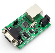 Free Shipping 5pcs/lot (USR-TCP232-2) Serial RS232 to Ethernet/TCP IP/RJ45 Module Best quality(China (Mainland))