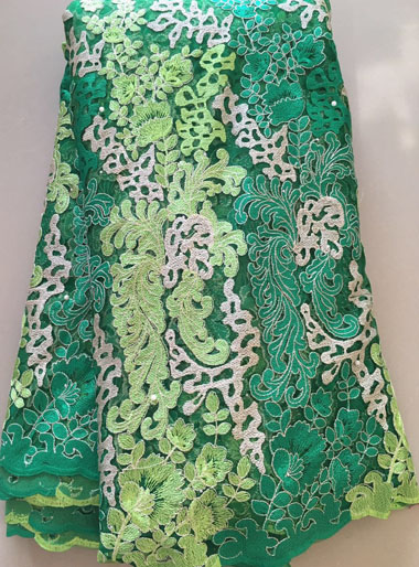 Latest French Guipure Lace Fabric 2016 High Quality African french net lace Embroidery For Wedding Nigerian Cord Laces ELL2869(China (Mainland))