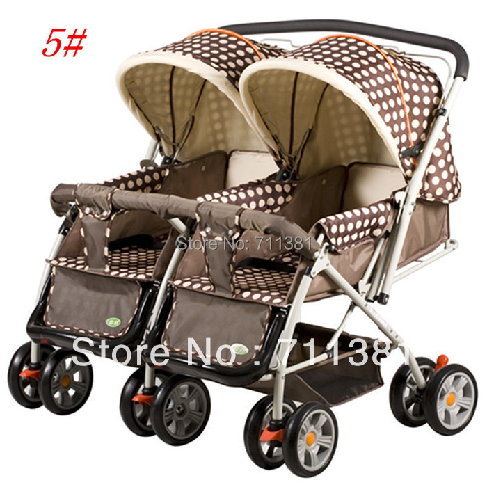 Twin Prams Travel Systems: High Quality Travel System Twins Baby Stroller With The