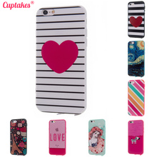 Buy Cuptakes Original Cute Candy soft Silicone Case iPhone 5 5S SE 6 6S 7 Plus Cover Pink Princess coque Phone Cases 4.7 5.5 for $1.01 in AliExpress store