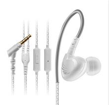 Waterproof Sweatproof IPX5 Earphones Sports Running Headphones HIFI Stereo Bass Headset Ear Hook Earbuds Handsfree With Mic