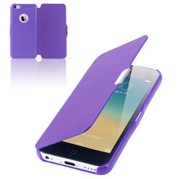 Доступное новый ультра тонкий магнитный флип кожаный чехол для iphone 4 4S 4 г модные кнопка телефон обложка для Iphone4 чехол