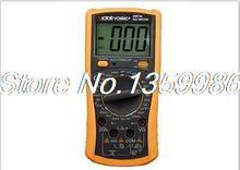Ac DC вольтметр омметр амперметр мультиметр VC890C + 3 1/2 цифровой мультиметр