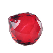 Buy Red 40mm Faceted K9 Crystal Ball Prisms Glass Chandelier Crystal Parts Hanging Lighting Ball Suncatcher Wedding Home Decortion for $3.67 in AliExpress store