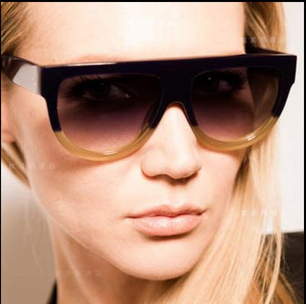 Hot!!sales Free new Designer Audrey CL41026 fashion women Brand sunglasses original packaging Leopard grain, color matching(China (Mainland))