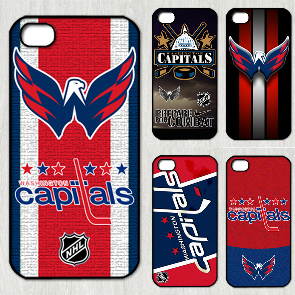 washington capitals NHL team logo fashion Ice hockey sport original cell phone Case cover iphone 4 4s 2014 new RZ004 - Abs Phone Cases store