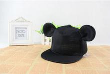 2016 New Fashion Women Caps Cute Girl Caps High Quality Baseball Caps Cat Two Big Ears Caps Snapback Hats