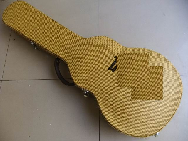 Electric Guitar Gold Hardcase for LP<br><br>Aliexpress