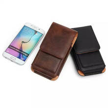 Buy Universal Leather Pouch Waist Wallet Mobile Phone Bag Case iPhone 5 5s SE 6 6S Plus Samsung Galaxy s6 s7 edge Note 7 for $5.66 in AliExpress store