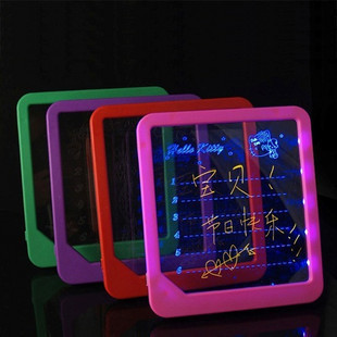Creative Led Luminous Message Board Handwritten Electronic Led Neon Advertising Board Painting Writing Home Kids Birthday Gift D(China (Mainland))