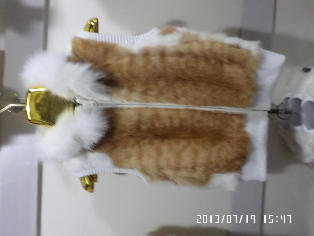 Cat led fur waistcoat