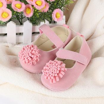 Новый Фестиваль цветов 0-1 лет новорожденных детские новорожденных девочек сначала ходунки малыш bebe sapato джейн обувь Горячая