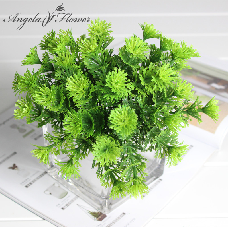 Bouquet Decorative Green Moss Grass Bonsai/Miniascape/Potted Arranging Accessories Simulation Plant Artificial Leaves(China (Mainland))