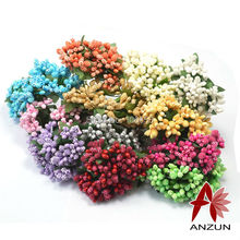 144pcs Artificial flower stamen pistil for Wedding Candy Cake Box Scrapbook Decors Wire Stem Mulberry party wire stem/marriage(China (Mainland))
