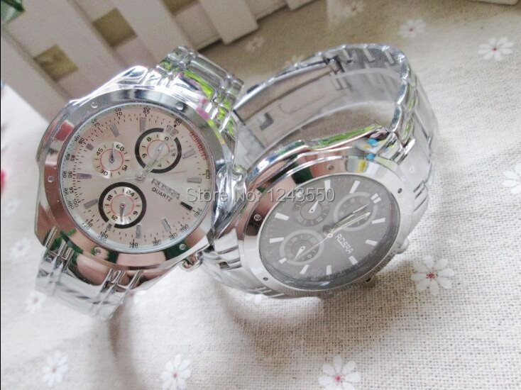 2015 Hihg quality full steel watches men fashion casual quartz watch luxury business wrist watch clock hour relogio masculino<br><br>Aliexpress