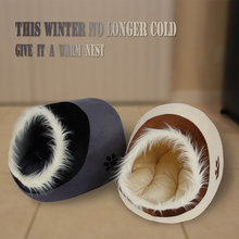 Pawz Road Free Shipping Dog Bed Pet House Lovely Soft Pet Products Dog Kennel Warm Nest For Puppy Removable Washable 5 Choices(China (Mainland))