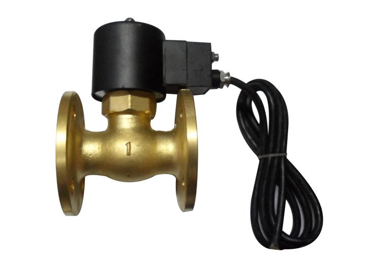 Authentic 2L flange piston type steam explosion pilot solenoid valve<br>