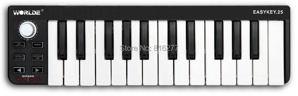 EASY midi KEY25 Controller / Music Editor Music keyboard / pad(China (Mainland))