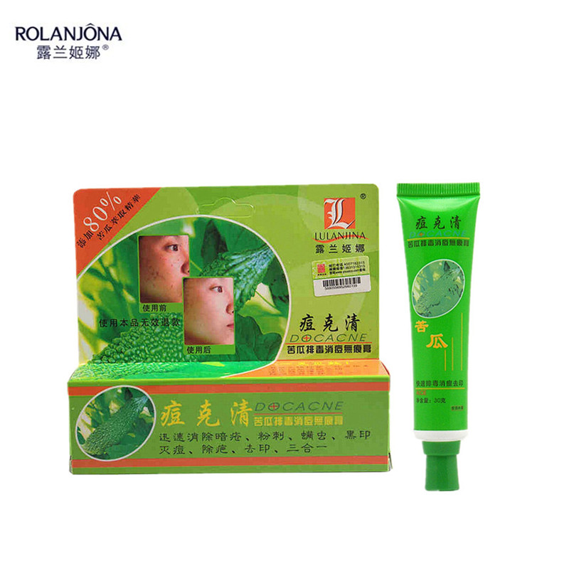 1PCS ROLANJONA BRAND Clear Zit Acne Pimple Removal Cream Cure Scar Blemish Dark Spot Face Skin Care