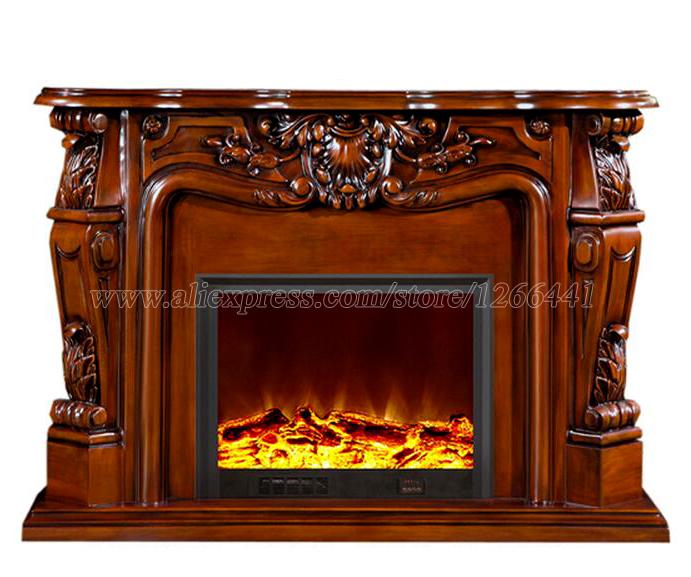 Rellenos de la chimenea de madera compra lotes baratos - Chimenea decorativa madera ...