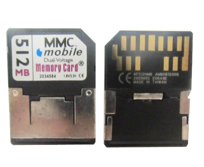 Mobile MEMORY RS-MMC 512MB RS MMC Memory Card DUAL Voltage 13pins(China (Mainland))