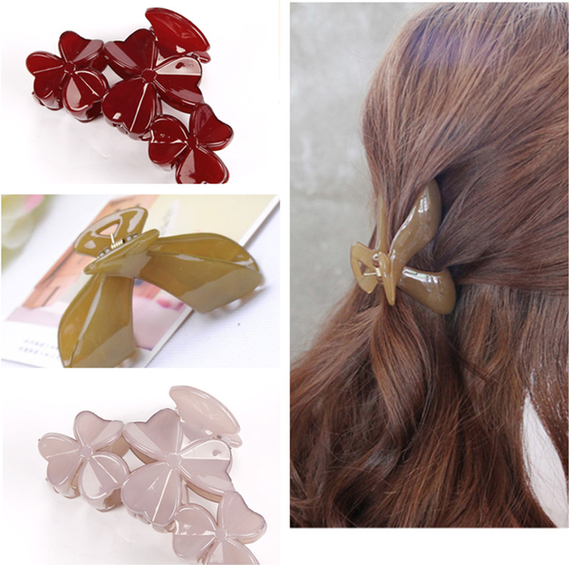 1 PC Simple Fashion Arcylic Girls' Hair Claw Adult Hair Clips Women Hair Accessories(China (Mainland))
