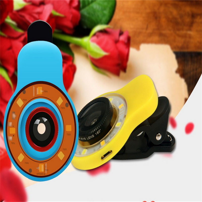 Mobile LED light Mobile phone external camera flash suits Take artifact Mobile phones(China (Mainland))
