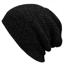 2016 Winter Beanies Solid Color Hat Unisex Plain Warm Soft Beanie Skull Knit Cap Hats Knitted Touca Gorro Caps For Men Women a2(China (Mainland))
