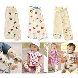 Beautiful Four-Leaf Clover Ladybug Flower and Bowknot Pattern Baby Knee Protect Hose Kids Socks 6pairs/Lot<br><br>Aliexpress