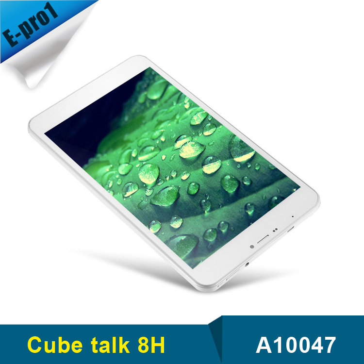 Original Cube U27GT Talk 8H 3G 8 3G Phone Tablet PC Android 4 4 Quad Core