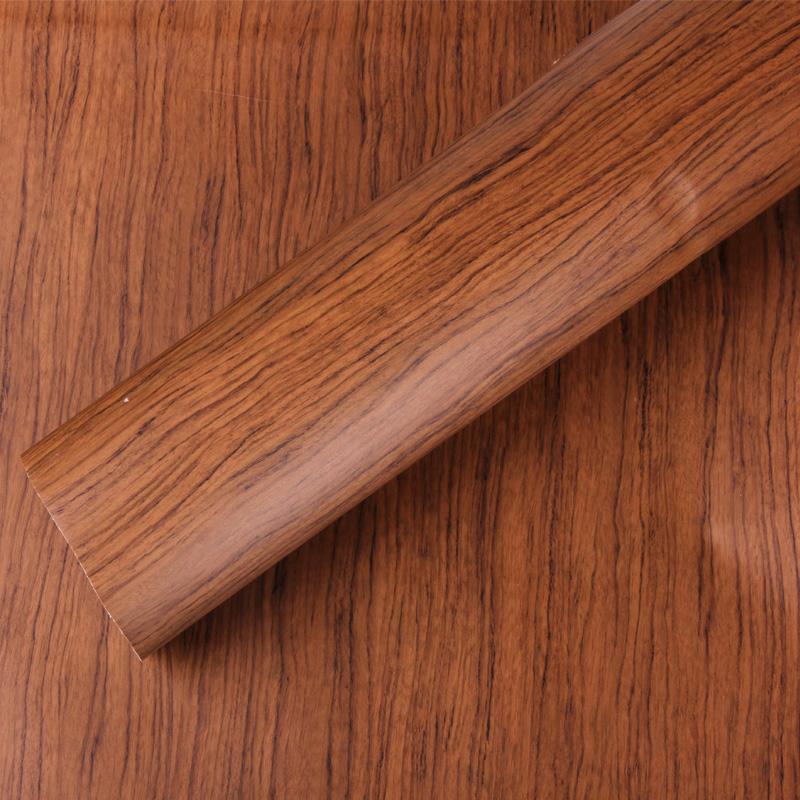 Thicken pvc wooden decoration film Furniture/clothing cabinet /kitchen cabinet door wood grain vinyl sticker-W1355(China (Mainland))