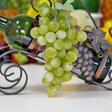 22-85pcs Grain Lifelike Artificial Grapes Plastic Fake Fruit Food Home Decor Decoration Vivid Fake Grapes Green Wholesale(China (Mainland))