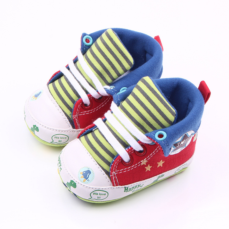 good quality baby kids shoes lovely star cartoon european style first walkers for boy 2014 new winter baby shoes retail(China (Mainland))