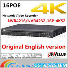 Buy Original Dahua English version NVR4216-16P-4KS2/NVR4232-16P-4KS2 16/32 Channel 1U 16PoE 4K H.265 Lite Network Video Recorder for $325.00 in AliExpress store