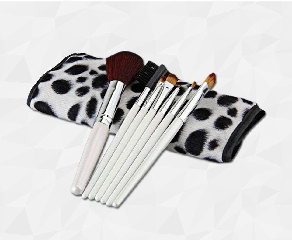 7 PCS Professional Makeup Brush Facial Care Facial Beauty Cosmetic Tool Brushes Set With Case(China (Mainland))