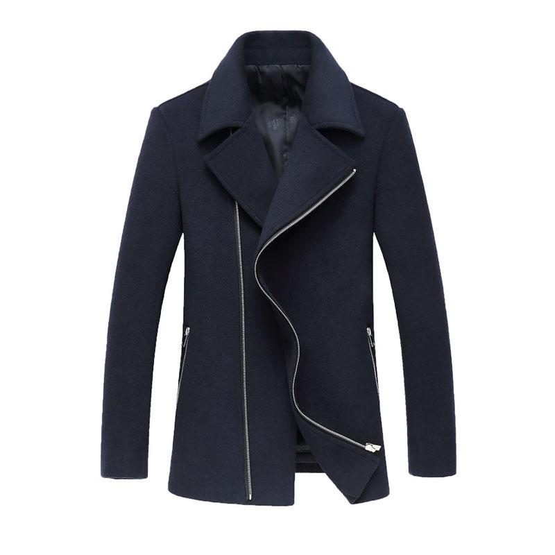 Aliexpress.com : Buy New Arrivals Fashion Zipper Turn Down Collar