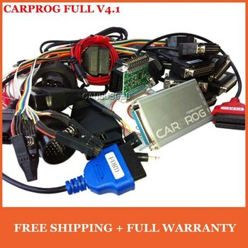 2013 Top-Rated Newest Free Shipping CARPROG FULL V4.01 for Car Radios/ Odometers/ Dashboards/ Immobilizers Repair