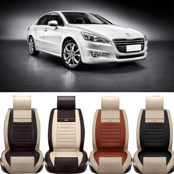 Special Leather Car Seat Cover peugeot 307 206 308 407 207 406 408 301 3008 car accessories sticker<br><br>Aliexpress