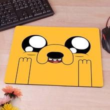 Приключения время джейк пользовательские Diy дизайн игры коврик для мыши резиновые