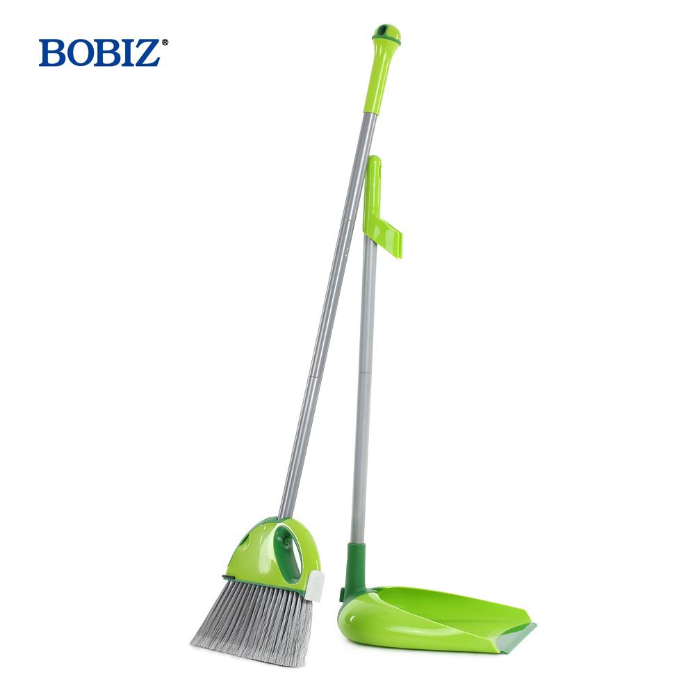 BOBIZ Multi-functional Soft Antibacterial Hand Broom Dustpan and Brush Cleaning Set Household Cleaning Tools vassoura escobas(China (Mainland))