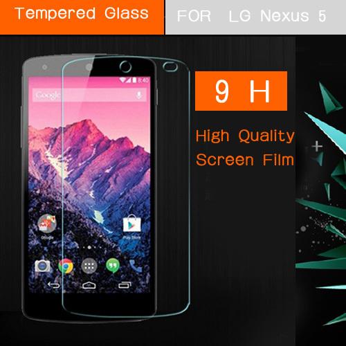 for lg nexus 5 premium tempered glass screen protector film