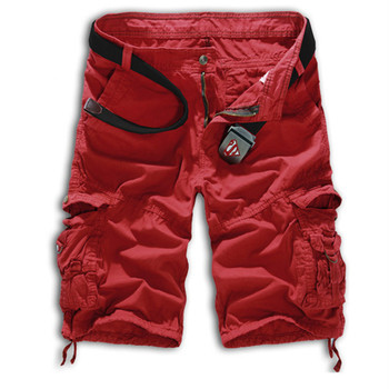 2015 Camouflage Cargo Shorts Hot Sale Men Short Pants Casual Fashion Summer Style Gym Shorts Men Cotton Loose Plus Size 8 Color