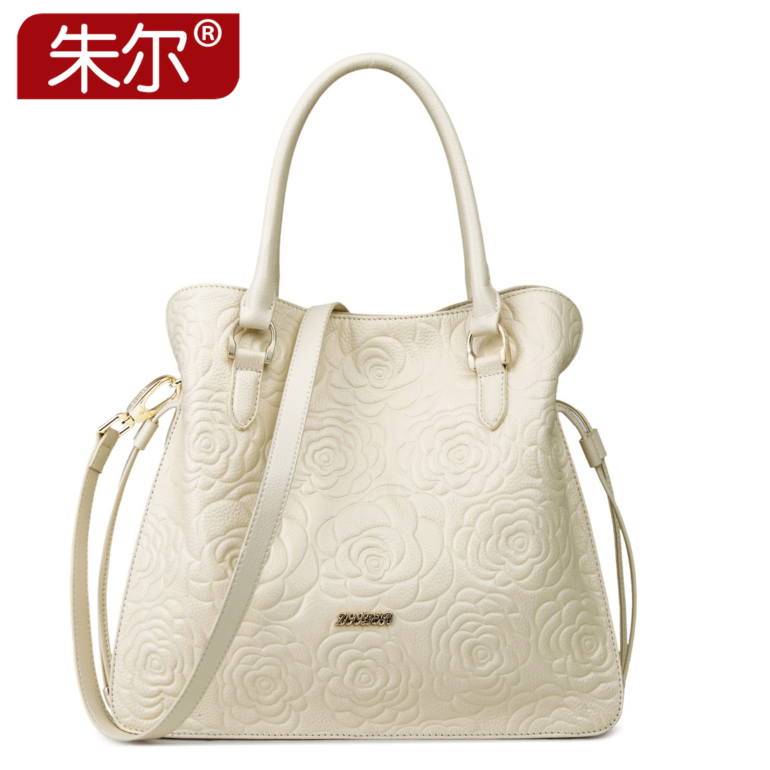 Noble women's print genuine leather handbag 2015 first layer of cowhide women's bags tote shoulder bag female